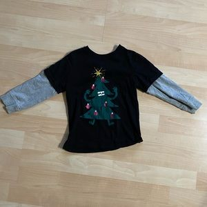 Gymboree Boys Christmas Tree Shirt 2T